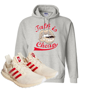 Adidas Ultra Boost 1.0 Indiana Pullover Hoodie | Talk Is Cheap, Ash