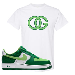 Air Force 1 Low St. Patrick's Day 2021 T Shirt | OG, White