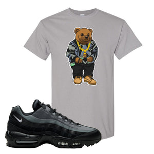 Air Max 95 Black Smoke Grey T Shirt | Sweater Bear, Gravel