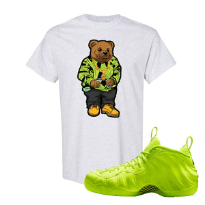 Air Foamposite Pro Volt T Shirt | Sweater Bear, Ash