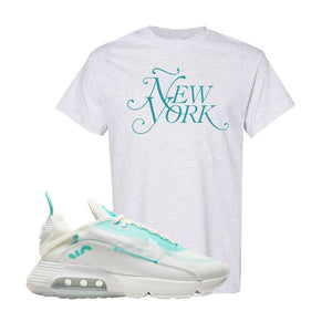 Air Max 2090 Pristine Green T Shirt | Ash, New York