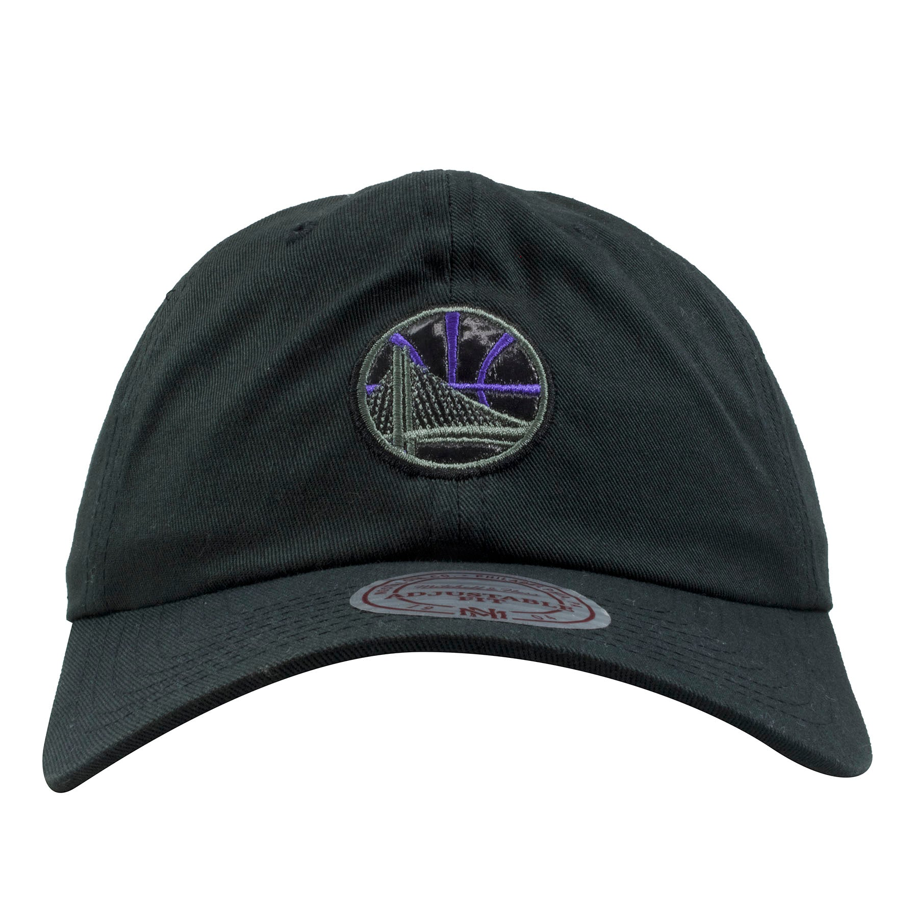 0b4e3062a66 on the front of the golden state warriors sneaker matching black space jam  11 dad hat