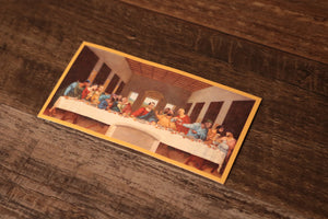 Philly Last Supper Sticker | Philadelphia Foles Last Supper Sticker the front of this sticker has the philly last supper design