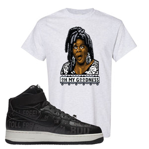 Air Force 1 High Hotline T Shirt | Oh My Goodness, Ash