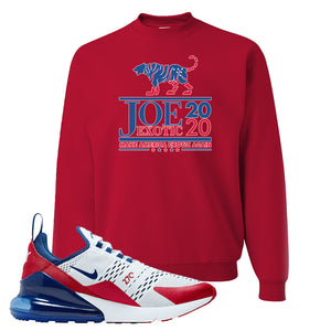 Air Max 270 USA Crewneck | Red, Joe Exotic 2020