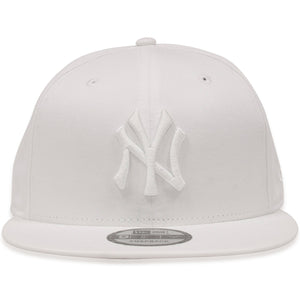 New York Yankees Tonal White 9Fifty Snapback Hat