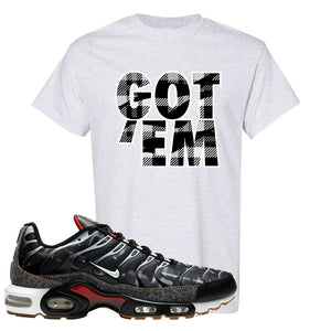 Air Max Plus Remix Pack T Shirt | Got Em, Ash