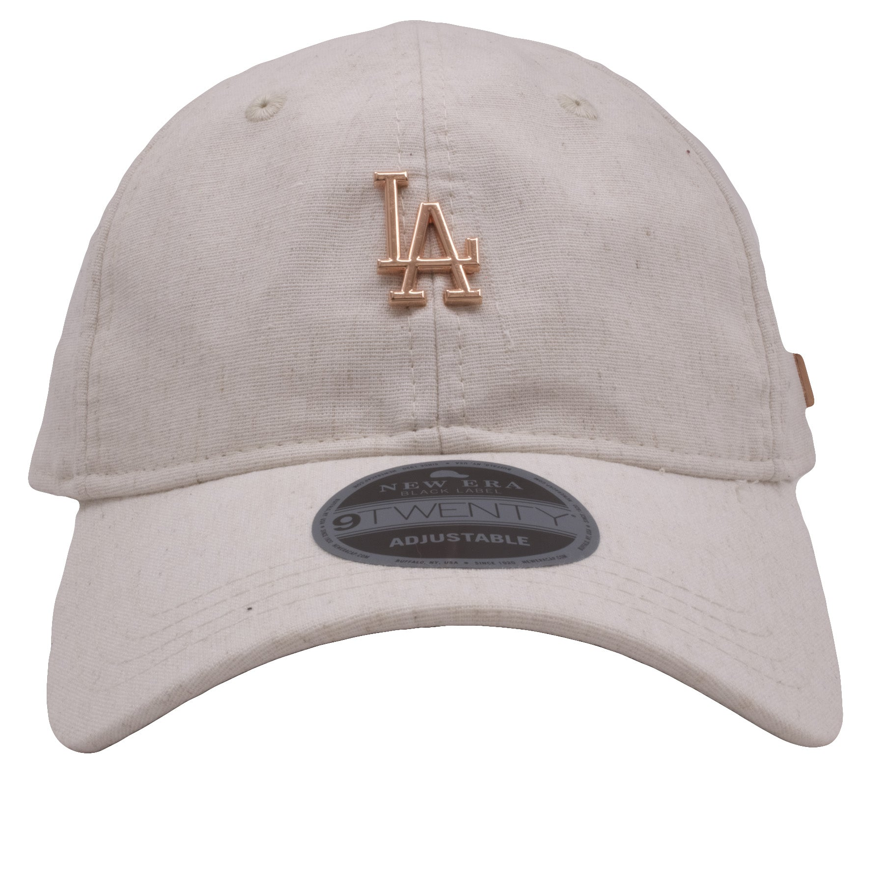 a1a34c50 Los Angeles Dodgers Oatmeal / Rose Gold Premium Black Label 920 Dad Hat