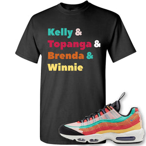 Air Max 95 Black History Month Sneaker Black T Shirt | Tees to match Nike Air Max 95 Black History Month Shoes | Kelly And Gang
