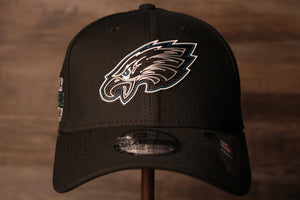 Eagles 2020 NFL Draft Flexfit | Philadelphia 2020 NFL Draft Black Stretch Fit the front of this cap has the eagles logo in a neon sign like design