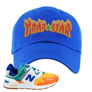 997S Multicolor Sneaker Royal Dad Hat | Hat to match New Balance 997S Multicolor Shoes | Trap Star