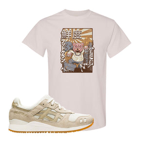 GEL-Lyte III 'Monozukuri Pack' T Shirt | Natural, Attack Of The Bear