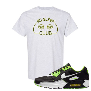 Air Max 90 Exeter Edition Black T Shirt | No Sleep Club, Ash