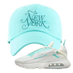 Air Max 2090 Pristine Green Dad Hat | Diamond Blue, New York