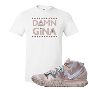 Nike Kybrid S2 What The Inline T-shirt | Damn Gina, White