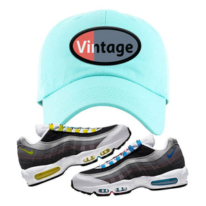 Air Max 95 QS Greedy Dad Hat | Mint, Vintage Oval
