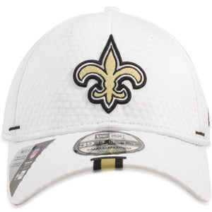New Orleans Saints 2019 Training Camp White 39THIRTY Flexfit Cap