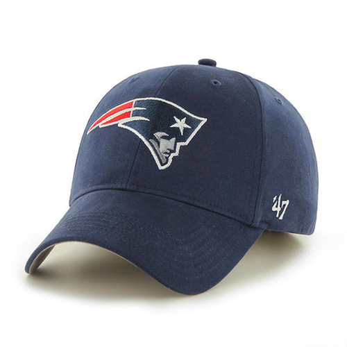 f870fbbcab1fc New England Patriots Navy Blue Youth-Sized Adjustable Dad Hat