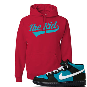 SB Dunk Mid 'Griffey' Hoodie | Red, The Kid