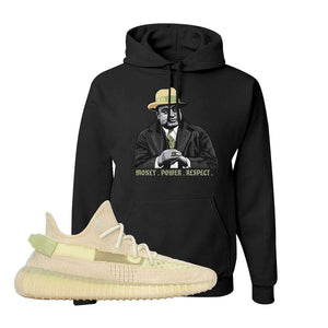 Yeezy Boost 350 V2 Flax Hoodie | Black, Capone Illustration