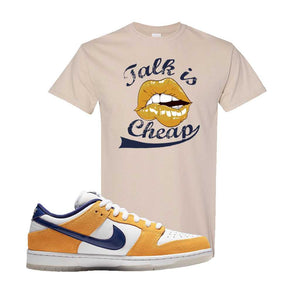 SB Dunk Low Laser Orange T Shirt | Sand, Talk is Cheap