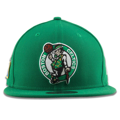 e958742b Embroidered on the front of the Boston Celtics 2018 NBA Draft Green Snapback  Hat is the