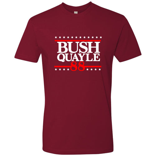 Standard Issue Bush Quayle 88' Red Grunt Life T-Shirt