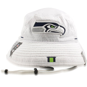 Seattle Seahawks 2019 Training Camp White Training Bucket Hat