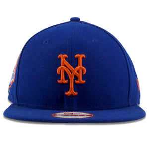 New York Mets World Series Victory Count Patch Blue 59Fifty Fitted Cap