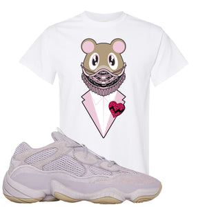 Yeezy 500 Soft Vision Yeezy Sneaker Mask White Sneaker Hook Up T-Shirt