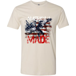 Standard Issue American Made Bald Eagle Cream Grunt Life T-Shirt