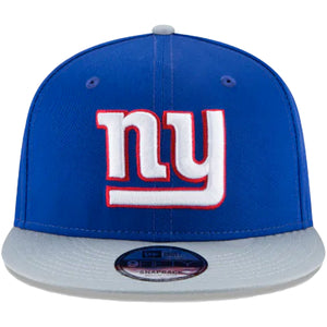 YOUTH New York Giants Two-Tone Blue / Gray Adjustable 9Fifty Snapback Hat