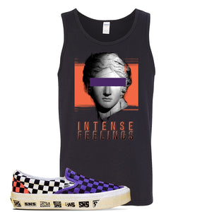 Vans Slip On Venice Beach Pack Tank Top | Black, Intense Feelings