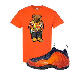 Foamposite One OKC T Shirt | Orange, Sweater Bear