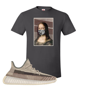 Yeezy 350 v2 Zyon T Shirt | Smoke Grey, Mona Lisa Mask