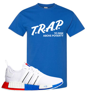 NMD R1 Seoul T Shirt | Royal, Trap To Rise Above Poverty