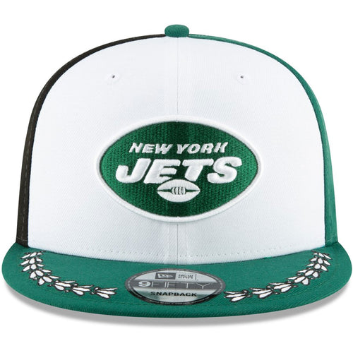 bfd79f1c449 New York Jets 2019 NFL Draft On-Stage Team Color 9Fifty Snapback Hat