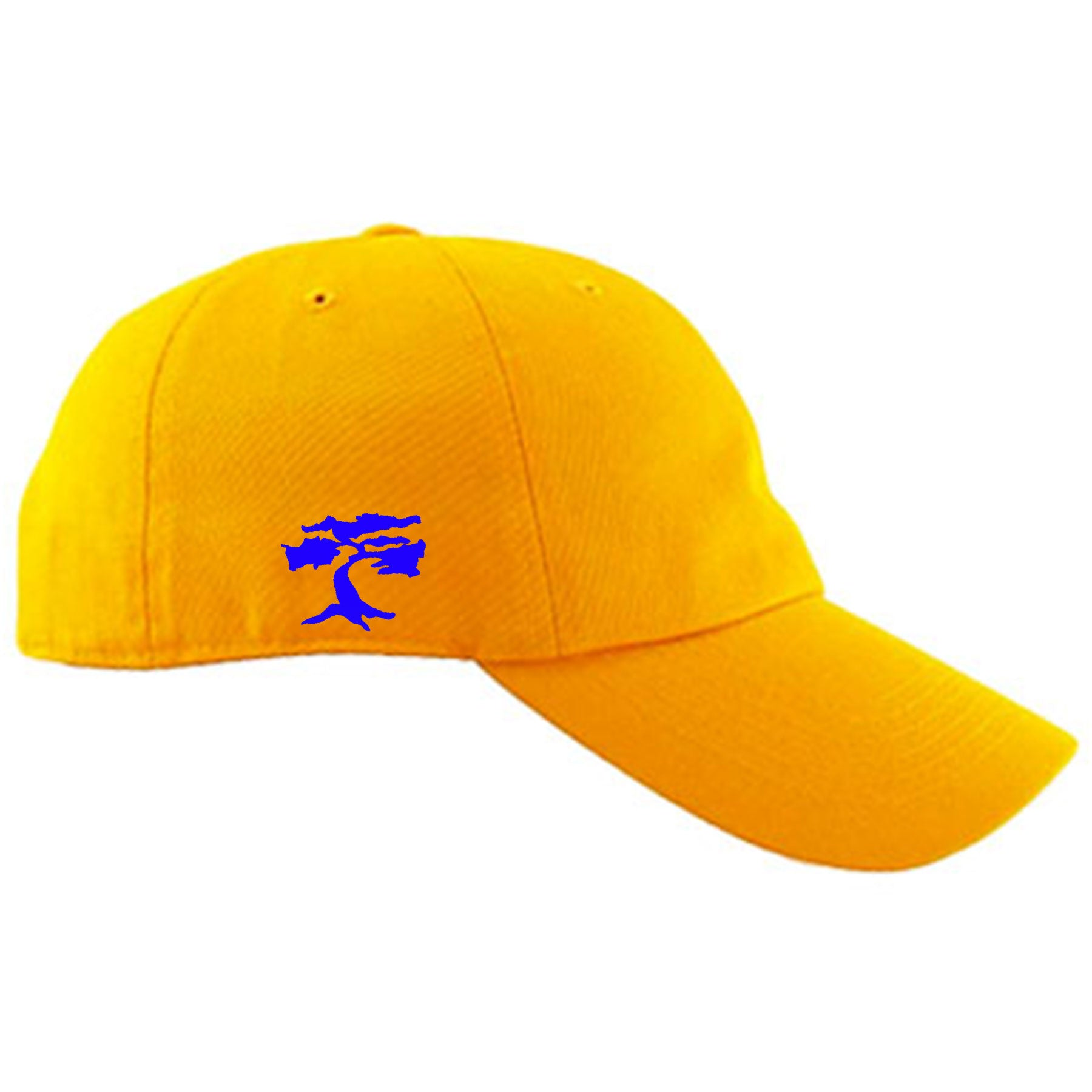 65494b3010d2 Jordan 5 Alternate Laney JSP Sneaker Matching Backwoods Yellow Dad hat   Embroidered on the right side of the Air Jordan 5 Laney sneaker matching  dad hat is ...