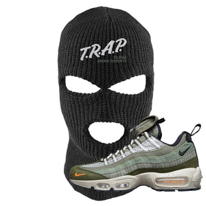 Air Max 95 Surplus Supply Ski Mask | Trap To Rise Above Poverty, Black