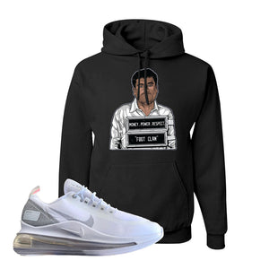Air Max 720 Utility White Hoodie | Black, El Chapo Illustration
