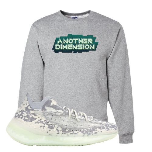 Yeezy Boost 380 Alien Another Dimension Athletic Heather Sneaker Matching Crewneck Sweatshirt