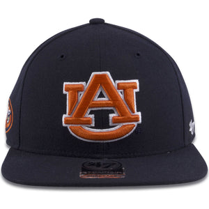 University of Auburn Tigers Navy Blue '47 Brand Snapback Hat