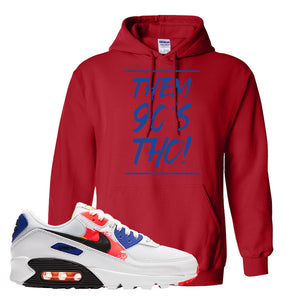 Air Max 90 Paint Streaks Hoodie | Them 90s Tho, Red