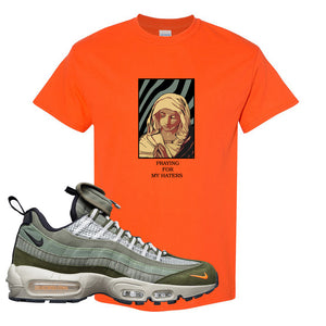 Air Max 95 Surplus Supply T Shirt | God Told Me, Safety Orange