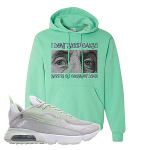 Air Max 2090 Vast Gray Hoodie | Franklin Eyes, Cool Mint