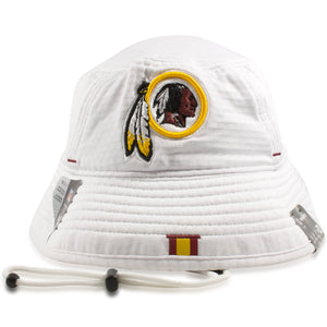 Washington Redskins 2019 Training Camp White Training Bucket Hat
