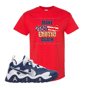 Air Barrage Low USA T Shirt | Red, Make America Exotic Again