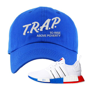 NMD R1 Seoul Dad Hat | Royal, Trap To Rise Above Poverty