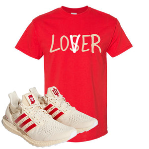 Adidas Ultra Boost 1.0 Indiana T-Shirt | Lover, Red
