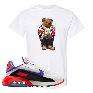 Air Max 2090 Evolution Of Icons T Shirt | Sweater Bear, White
